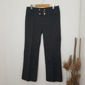 Point Zero| Plaid Trouser Dress Pants  Gray